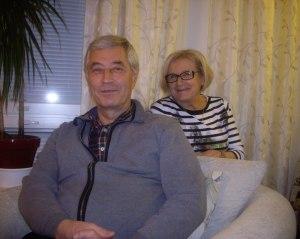 """Tapaamme Pertti ja Marja-Leena Helakorven Jyväskylän Tuohimutkassa, mutta illan keskiössä  ovat """"Korpela"""" P-korvessa ja """"Arava"""" eli As Oy Selkälahti sekä vaneritehdas."""