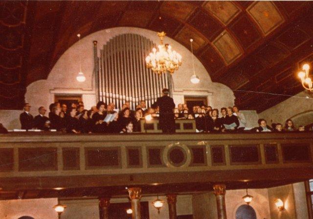 Kantaatin esitys 1967