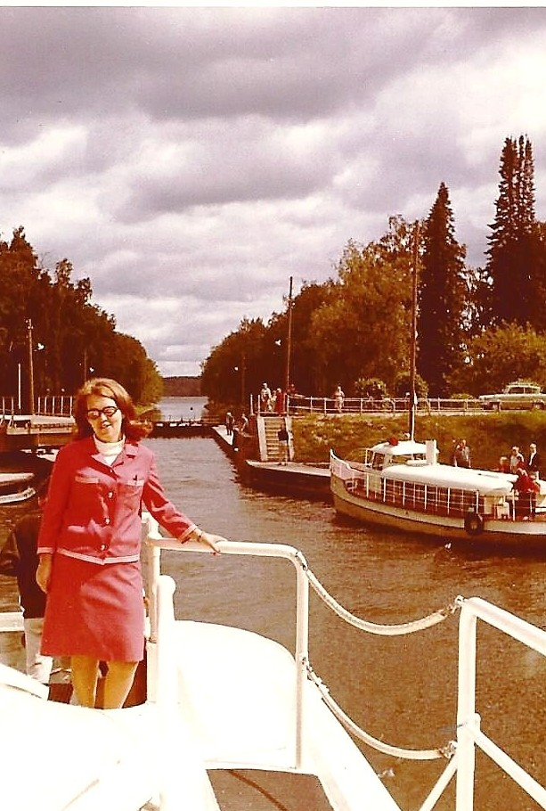 Leena Lakkinen Tehin kannella 1967