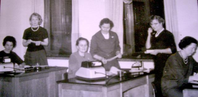 Tilikonttori 60-luvulla